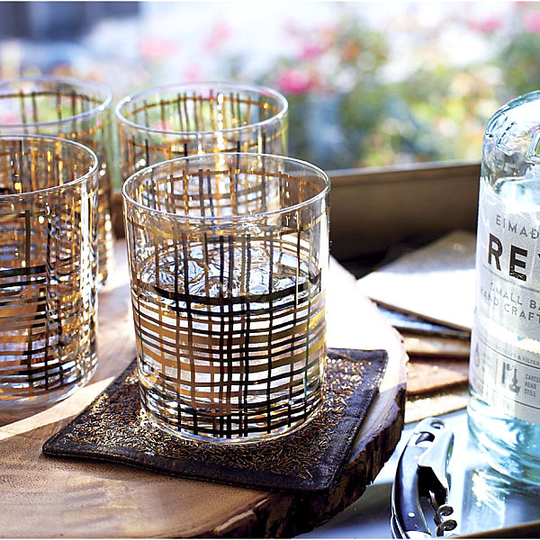 Gorgeous Drinking Glasses Decoration For Interior Design: Unique Metallic Bar Glasses With Beautiful Decoration Ideas For Inspiration ~ stevenwardhair.com Dining Room Design Inspiration