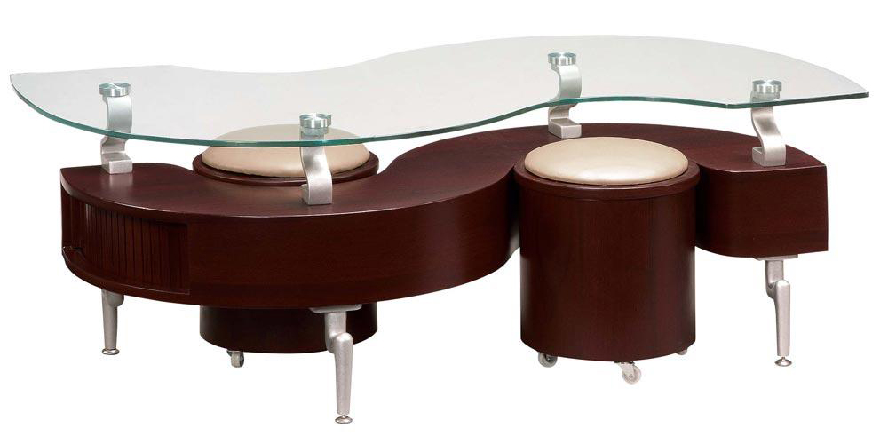 Coffee Table Designs : Unique Modern Design Mahogany Modern Coffee Table