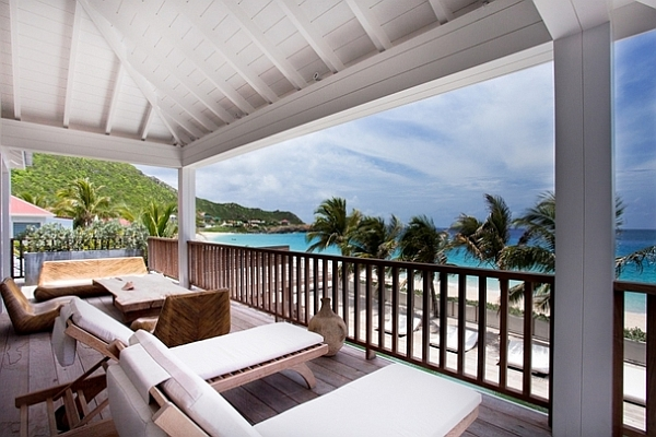 Extravagant Caribbean Villa Which Full Of Refreshment : Upper Terrace