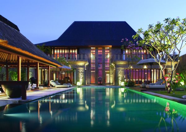 Beautiful Bali Destination To Feel Paradise : View Of The Bulgari Resort