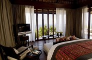 Beautiful Bali Destination To Feel Paradise : Villa Bedroom At The Bulgari Resort In Bali