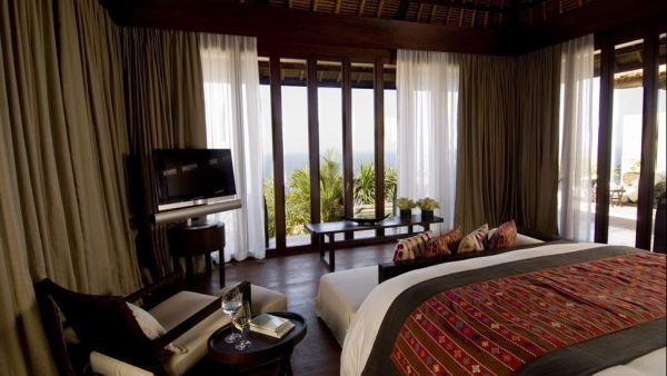 Beautiful Bali Destination To Feel Paradise: Villa Bedroom At The Bulgari Resort In Bali
