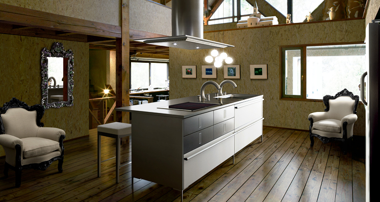 Contemporary Japanese Kitchen Design: Vintage Kitchen
