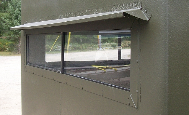 Deer Blind Window For Your Hunting Season : Visor2 Deer Blind Window