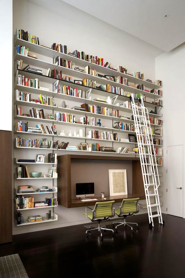 Wall Bookshelf With A Unique Touch: Wall Bookshelf