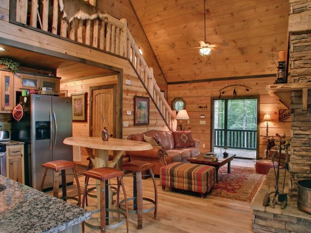Comfortable Cabin Interior Design Ideas: Warm And Welcoming Cabin Home Interior Ideas ~ stevenwardhair.com Tips & Ideas Inspiration