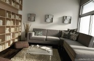 Stylish Living Room Designs Comes With The Interesting Idea : Warm Biege Living Room