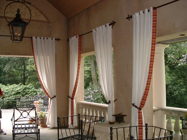 Window Patterns In Grid: White And Red Window Treatments Patterns For Bow Windows ~ stevenwardhair.com Windows Inspiration