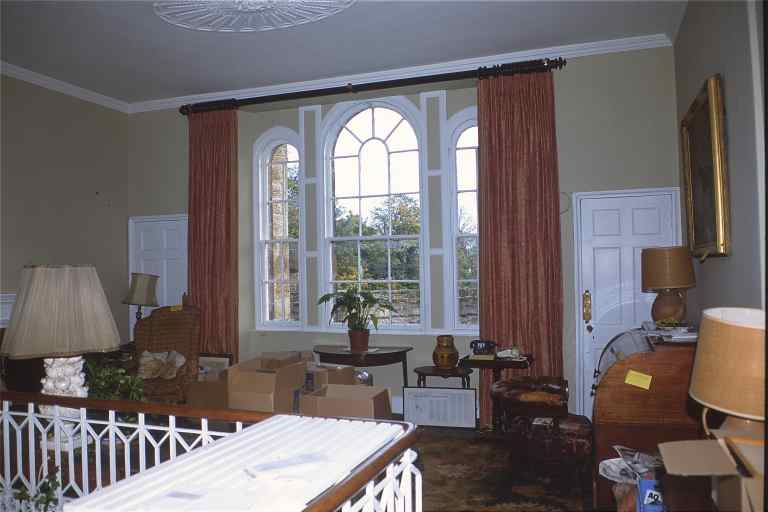 Arched Window Ideas And Designs : White Arched Window