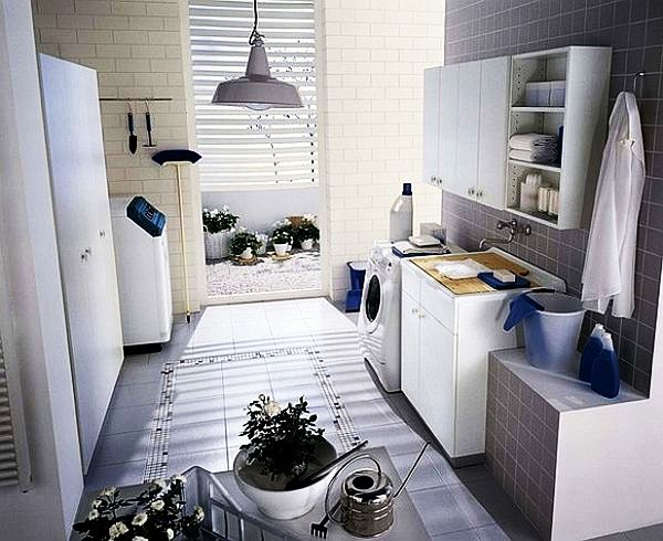 Gorgeous Laundry Room Interior Inspiration: White Laundry Room Ideas