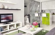 Outsized Your Space With These Inspiring Wall Colors For Small Rooms : White Room Color Design Ideas
