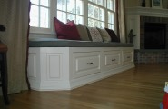 Window Seat Designs For Relaxation : Window Seat With Drawers