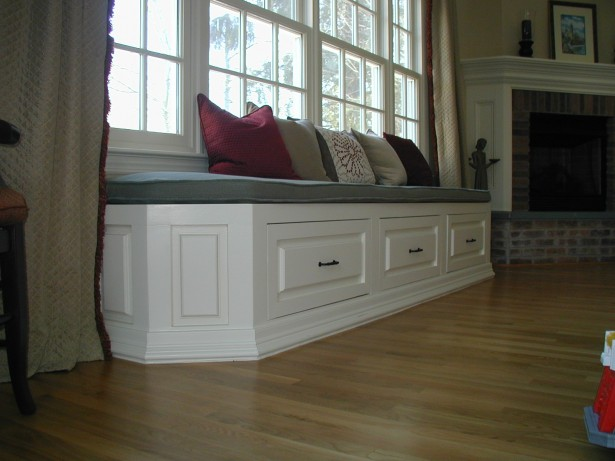 Window Seat Designs For Relaxation: Window Seat With Drawers ~ stevenwardhair.com Windows Inspiration
