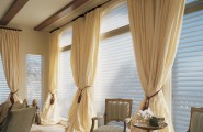 Stunning Curtain Ideas For Large Windows As Your Attractive Enhancement : Window Treatment Ideas Curtains Drapes