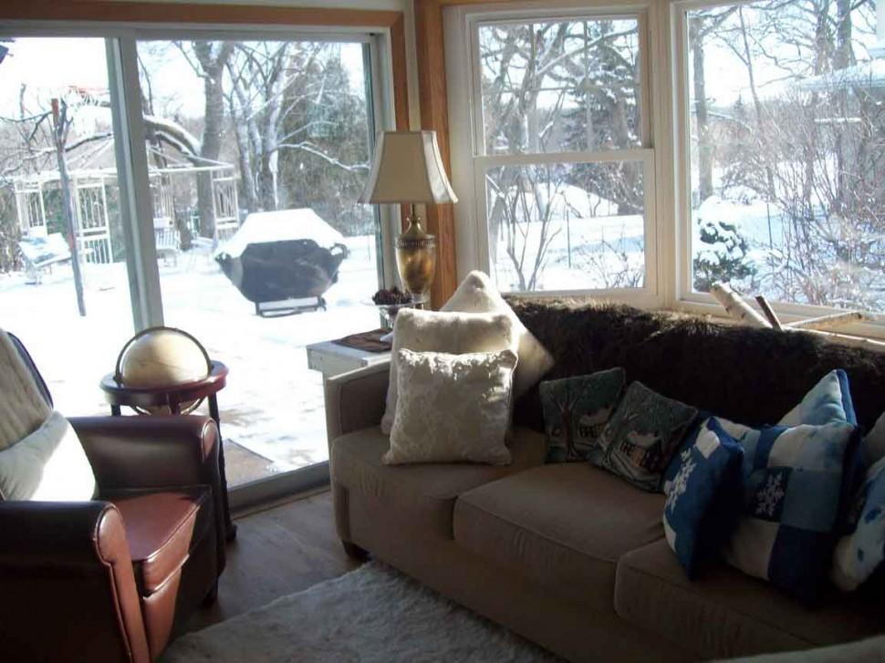 4 Season Room Ideas For Modern House: Winter Season Room