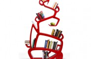 Unique Shelving Design With The Interesting Decoration : Wisdom Tree Book Shelf