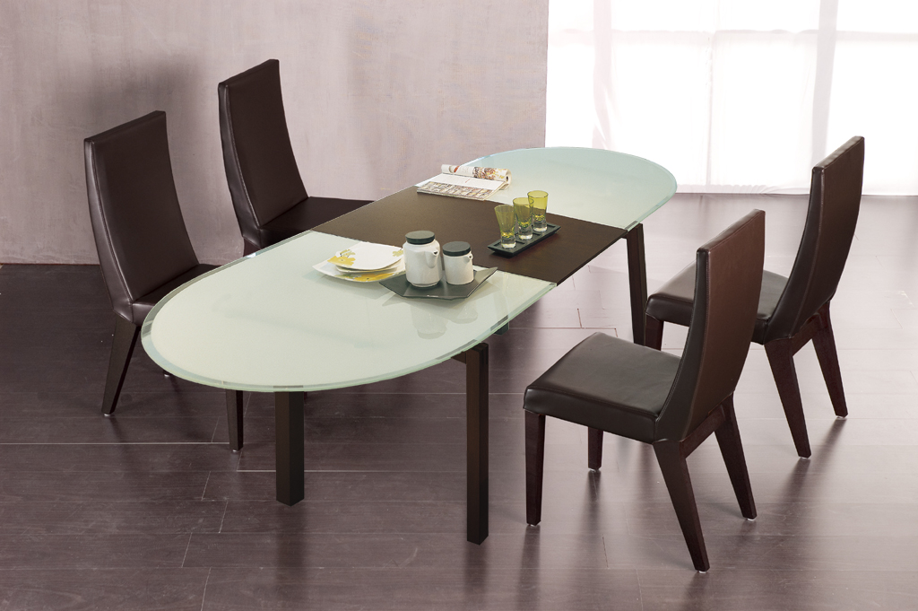 Beautiful And Affordable Modern Furniture For Your House: Wonderful Modern Brown Affordable Modern Furniture Glasses Table