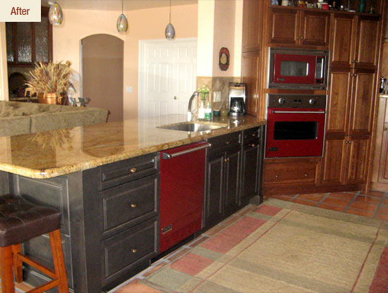 Simple Kitchen Remodel Ideas For Your Kitchen: Wonderful Modern Wooden Islands Kitchen Remodel Ideas Granite Countertops
