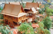 The Fascinating And Largest Indoor Vacation In Dome : Wooden Resort Built Among All Complete Facilitate In Dome