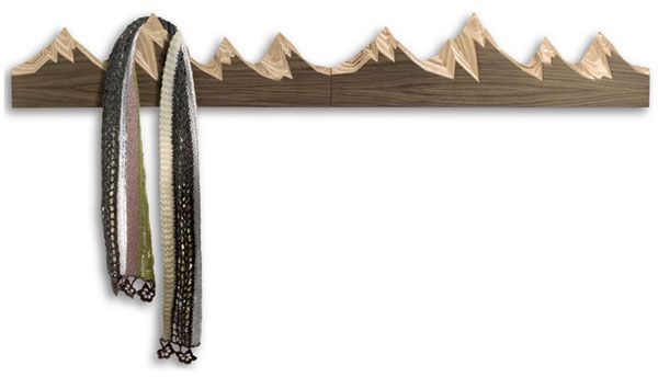 Imaginative Wall Hooks For Coats As The True Inspiring Functional Adornment: Wooden Wall Hook
