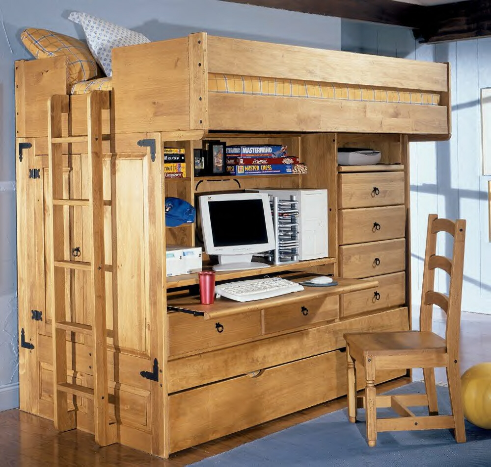 Closet Ideas For Small Bedrooms With Classy Look : Yet Efficient Reclaimed Wood Storage Units