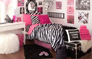 Interesting Zebra Room Accessories For Nice Decoration : Zebra Deep Pink Ideas