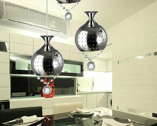 Chrome Pendant Lighting